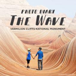 Photo Diary: The Wave Vermilion Cliffs National Monument