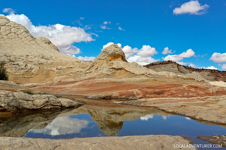 White Pocket Arizona - Sandstone Formations in Vermilion Cliffs National Monument near the border of Utah and Arizona // localadventurer.com