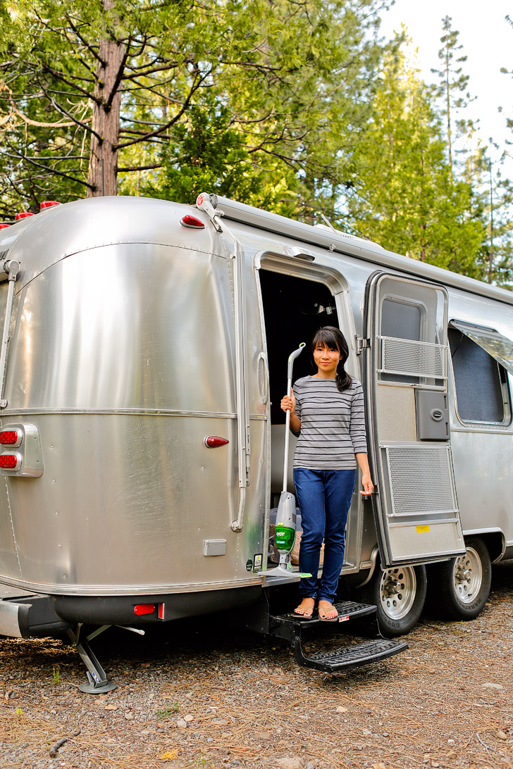 How We Keep Our RV Clean // localadventurer.com