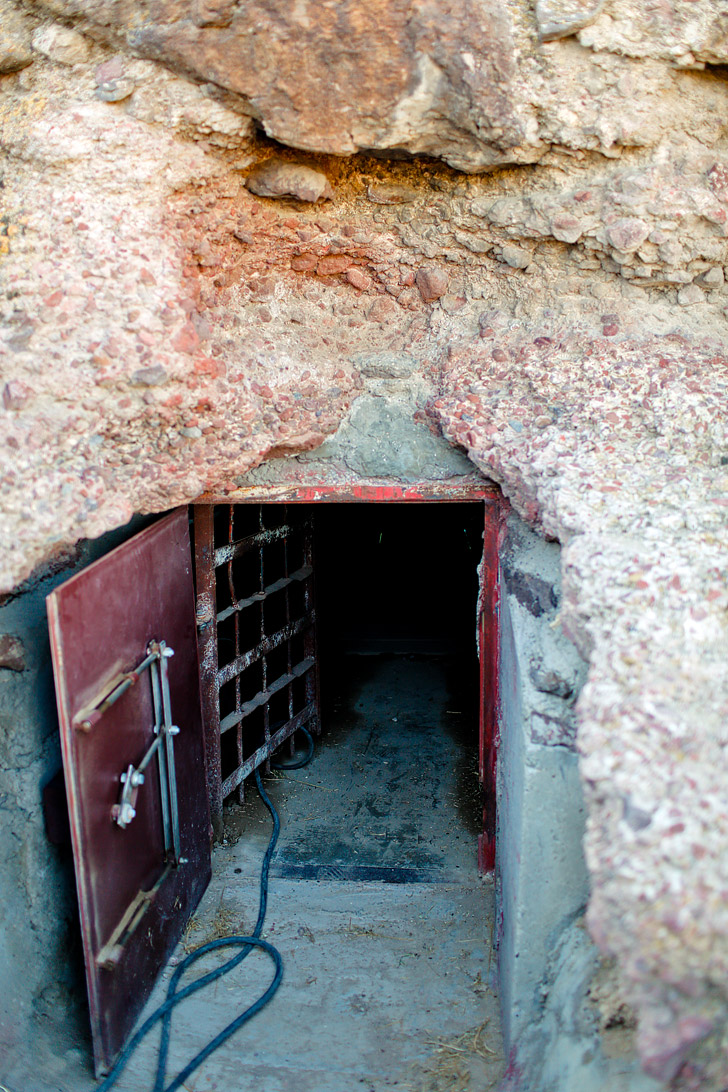 Hidden Cave Nevada - This is a unique cave because it shows an archeological dig frozen in time // localadventurer.com