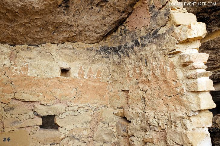 Balcony House Mesa Verde Art by Ancestral Puebloans - UNESCO World Heritage Site // localadventurer.com