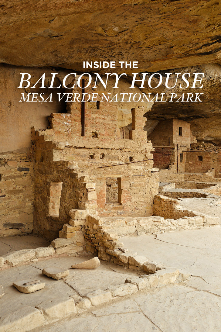 Walking On Ancient Ruins Balcony House Mesa Verde Tour