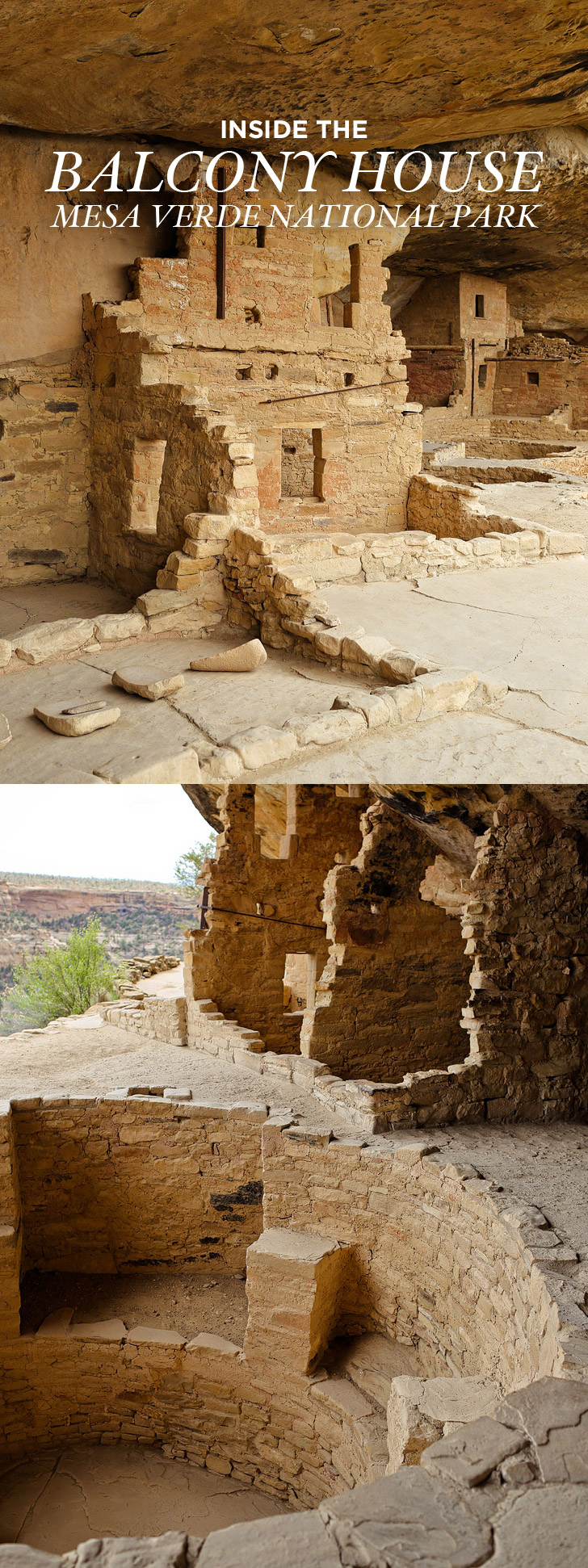 Balcony House Mesa Verde National Park - ancient cliff dwellings built by Ancestral Puebloans // localadventurer.com