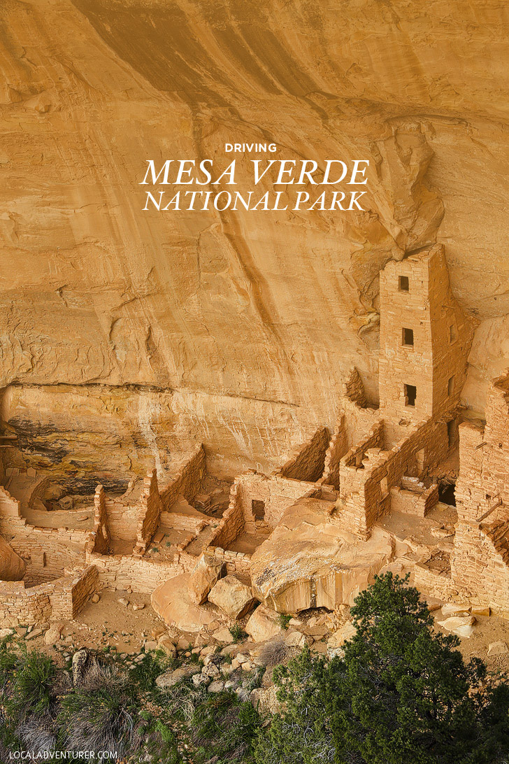Driving Mesa Verde National Park Colorado - All the Best Stops // localadventurer.com
