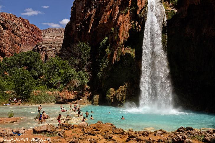 Havasu Falls AZ // localadventurer.com