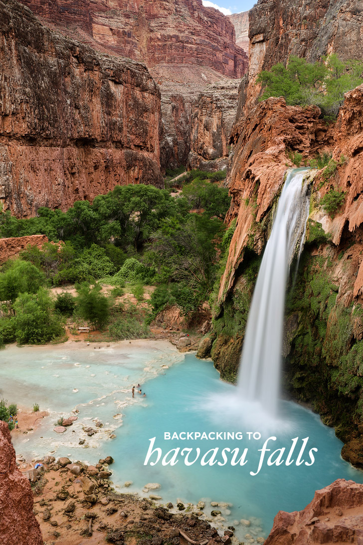 photo diary: backpacking havasupai day 1 and managing expectations