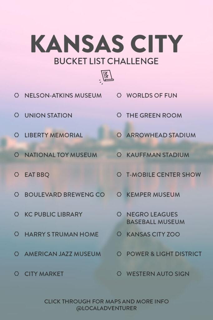 Kansas City Bucket List