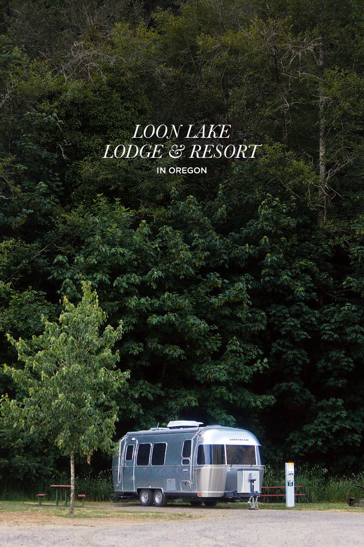 Loon Lake Lodge and RV Resort tucked away in the mountains along the coast of Oregon // localadventurer.com