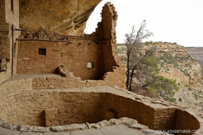 Mesa Verde Cliff Dwellings Built By Ancestral Puebloans - a UNESCO World Heritage Site // localadventurer.com