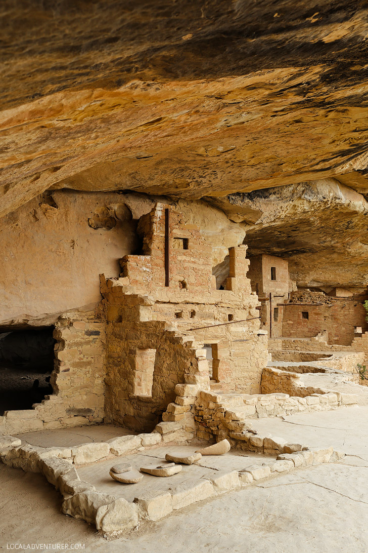 Mesa Verde National Park Colorado - Cliff Dwellings built by Ancestral Puebloans - a UNESCO World Heritage Site // localadventurer.com