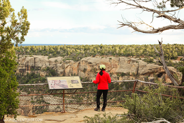 Soda Canyon Overlook Trail - short, easy trail in Mesa Verde National Park // localadventurer.com