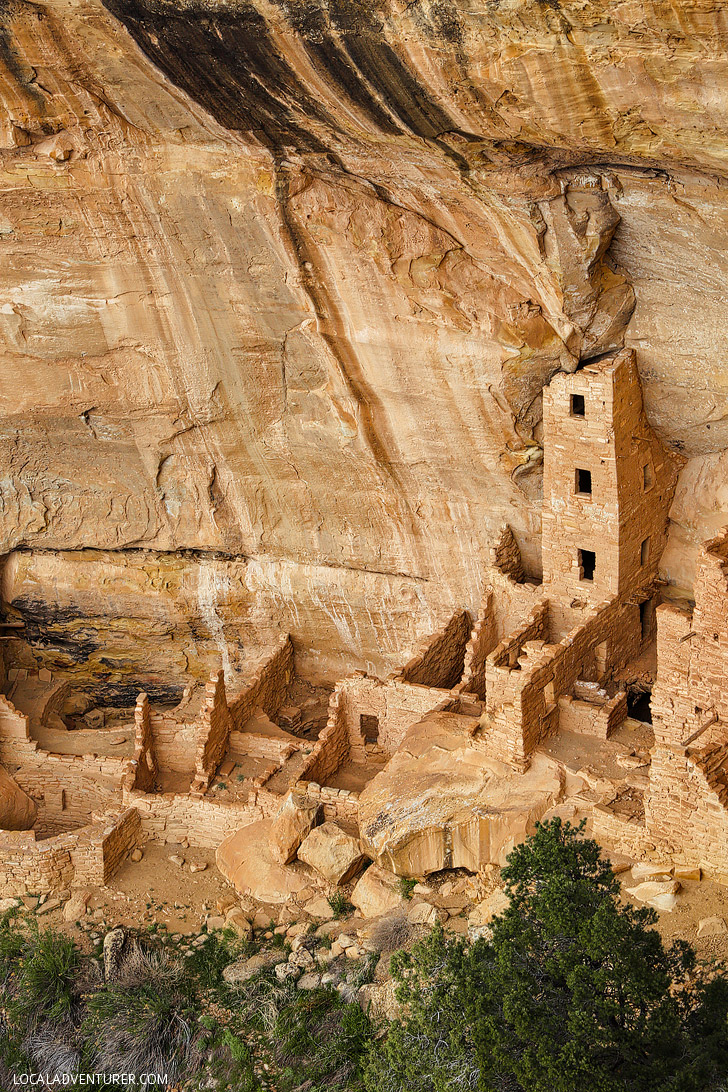 Square Tower House Mesa Verde National Park, Colorado USA // localadventurer.com