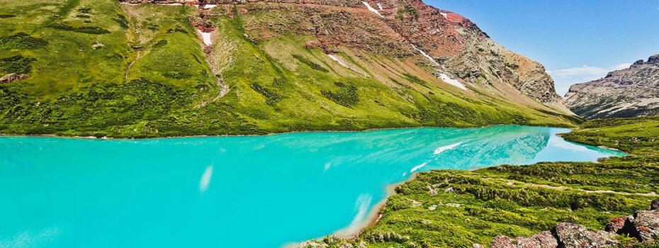 Cracker Lake Glacier NP Montana