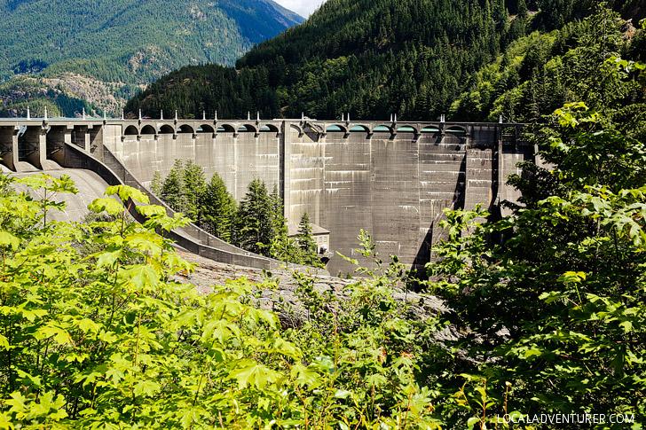 Diablo Dam North Cascades WA USA // localadventurer.com
