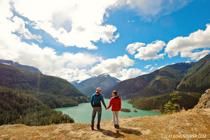 Diablo Lake North Cascades NP Washington // localadventurer.com
