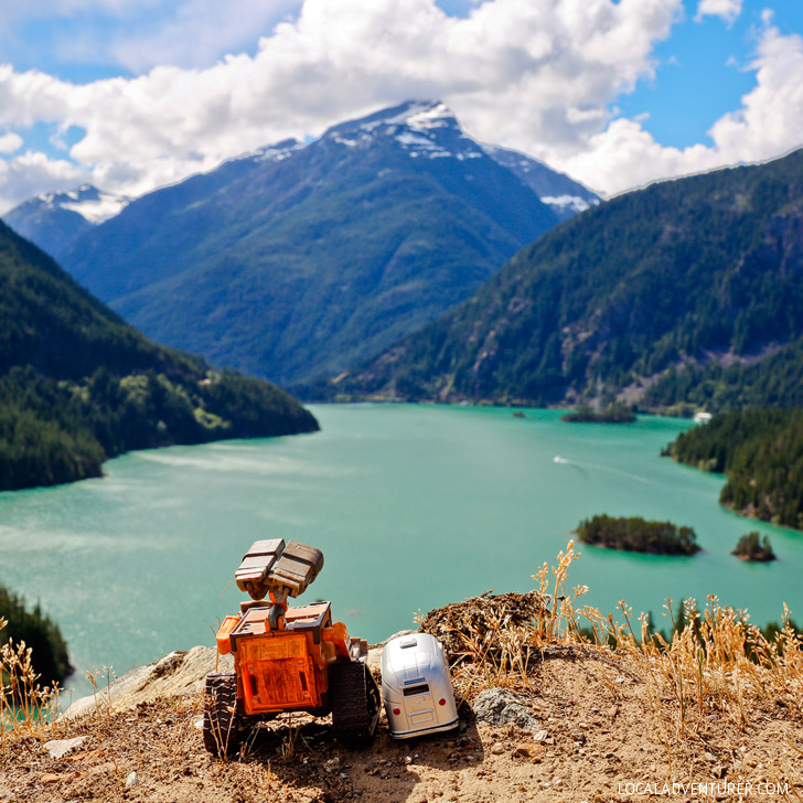 Diablo Lake in Washington USA // localadventurer.com