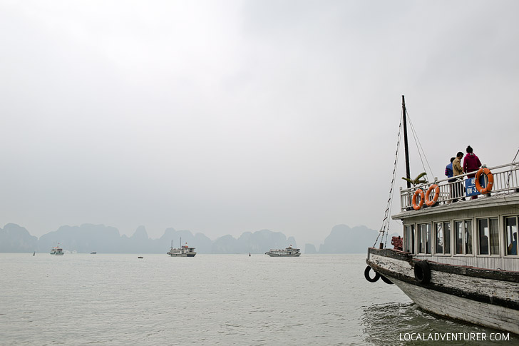 Magical Halong Bay Boat Tours // localadventurer.com