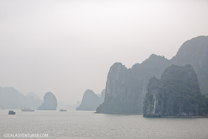 Vietnam's Halong Bay - UNESCO World Heritage Sites // localadventurer.com
