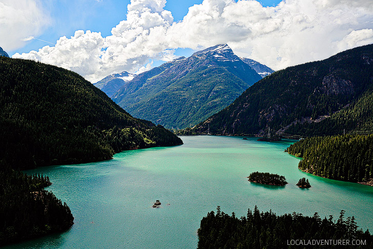 Diablo Lake - Ross Lake National Recreation Area in North Cascades National Park Complex, WA USA // localadventurer.com