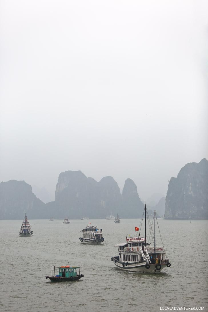 Vietnam Halong Bay // localadventurer.com