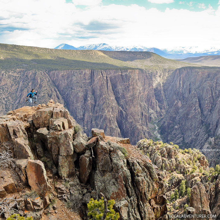 Warner Point Nature Trail, Black Canyon of the Gunnison National Park, Colorado // localadventurer.com