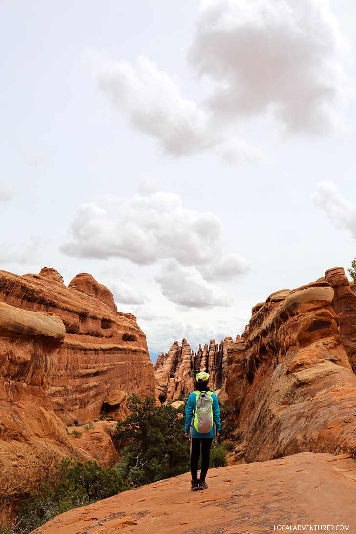 Hiking Arches National Park (+ 9 Things You Can't Miss in Arches National Park Utah) // localadventurer.com