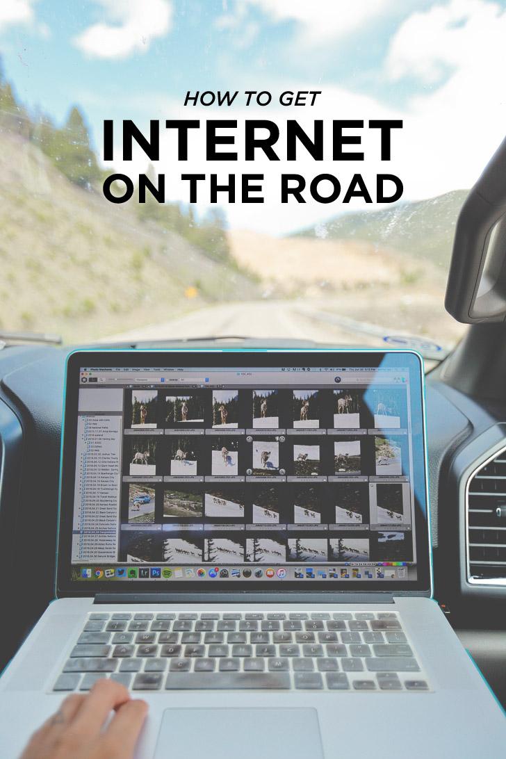 How to Get Internet While Traveling // localadventurer.com