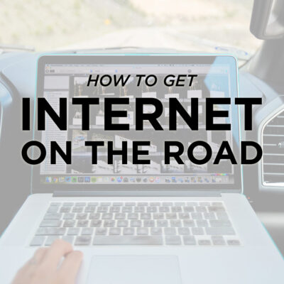 How to Get Internet While Traveling // localadventurer.com