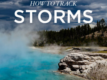 How to Track Storms with the Most Reliable Weather App // localadventurer.com