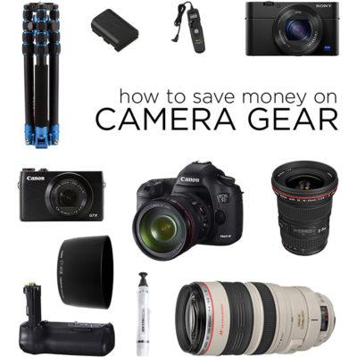 How to Save Money on Camera Gear // localadventurer.com
