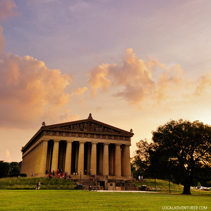 The Parthenon, Nashville Tennesee - full scale replica of the original Parthenon in Athens Greece // localadventurer.com