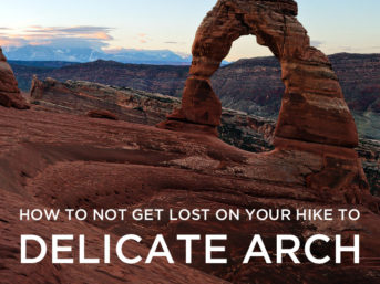 How to Not Get Lost on Your Delicate Arch Hike // localadventurer.com