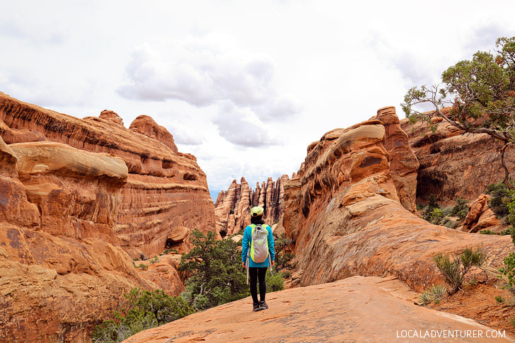 Photo Guide: Hiking the Devils Garden Trail Arches National Park // localadventurer.com