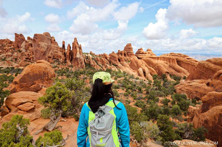Photo Guide: Hiking the Devils Garden Trail Arches National Park // localadventurer.com
