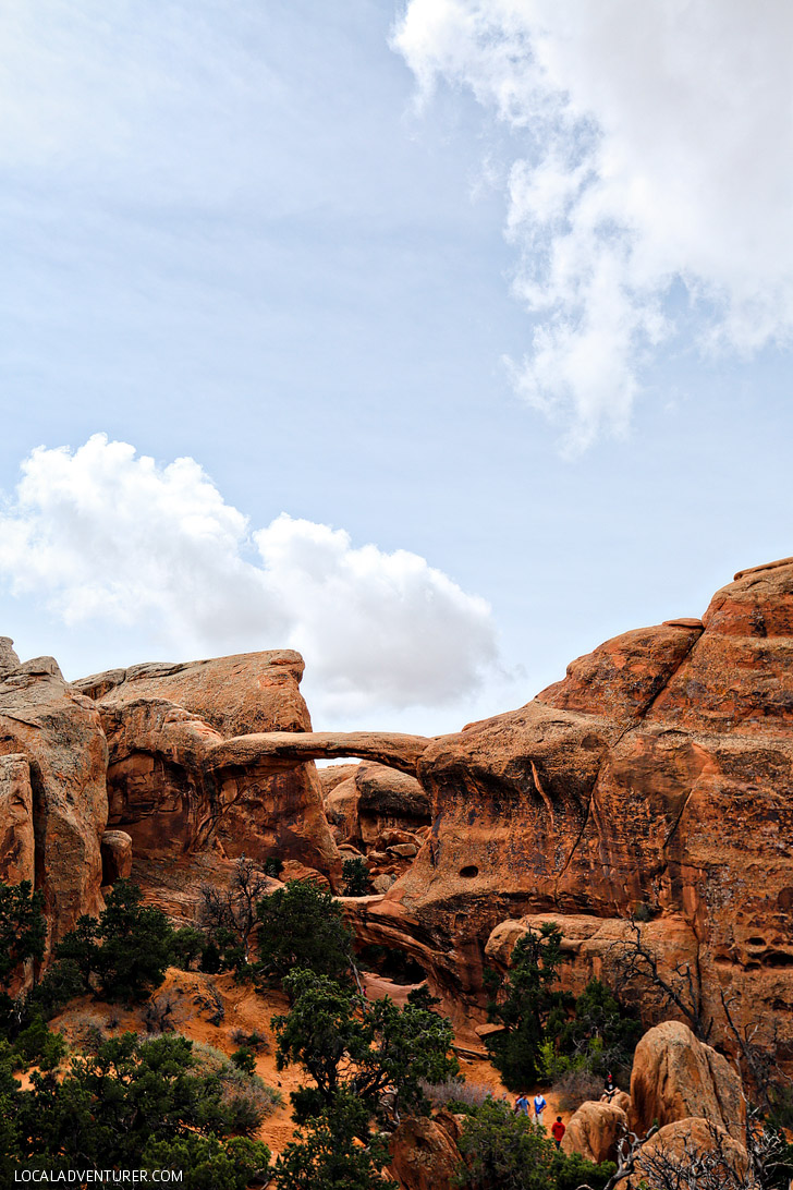 Double O Arch (+9 Best Arches in Arches National Park) // localadventurer.com