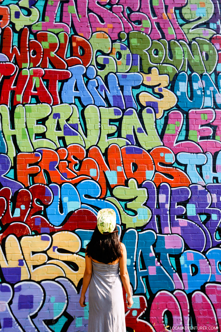 Dr Dax Alphabet Wall (+ Best Places to Take Pictures in Atlanta) // localadventurer.com
