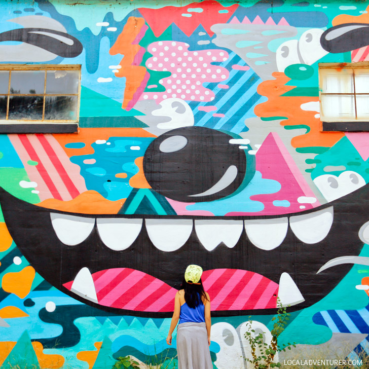 Greg Mike Mural Atlanta (+ Best Instagram Spots in Atlanta) // localadventurer.com