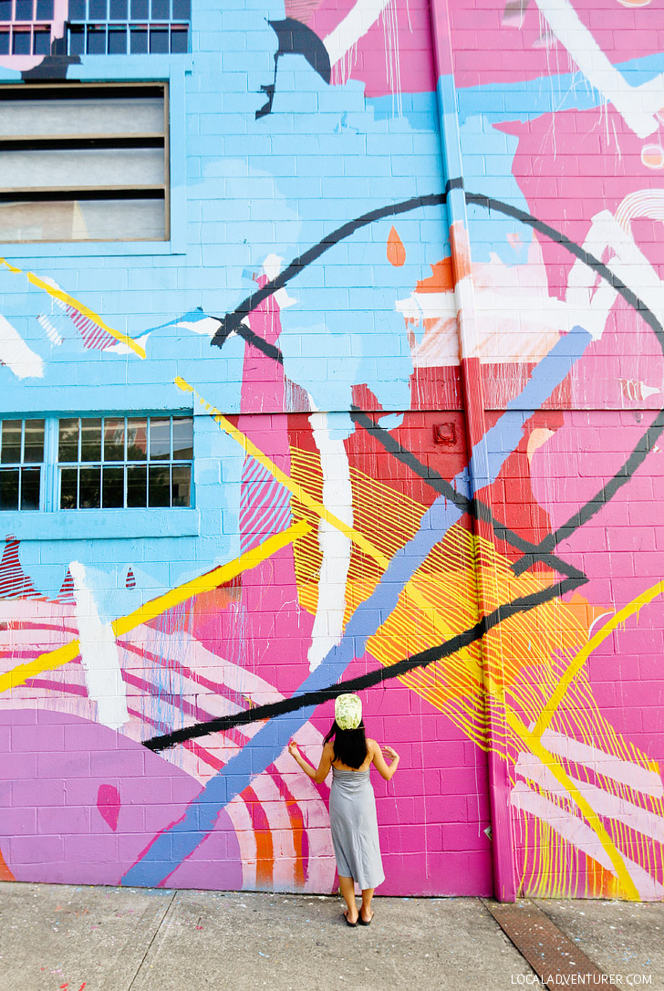 Hense Abstract Wall (+ Best Instagram Spots in Atlanta) // localadventurer.com