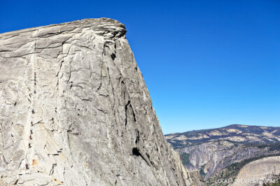 Hiking Half Dome Cables - Scariest thing I've done on a hike... so far // localadventurer.com