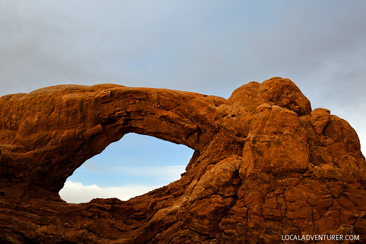 South Window Arches National Park Moab Utah // localadventurer.com