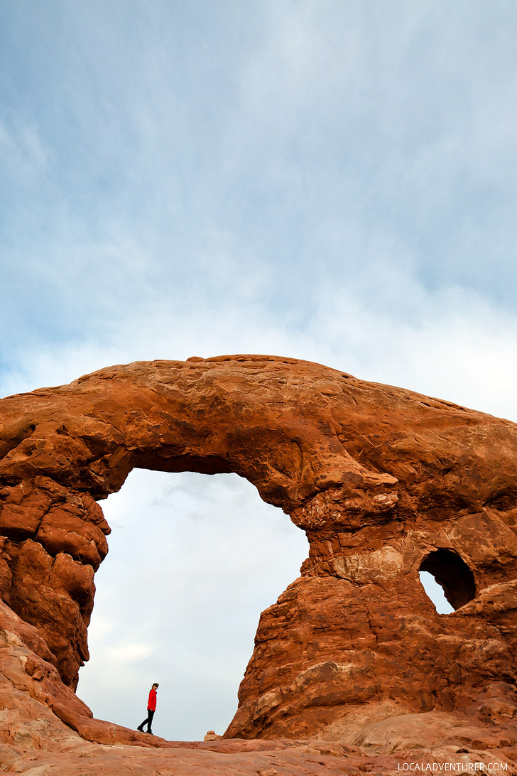 Turret Arch (9 Famous Arches in Arches National Park) // localadventurer.com