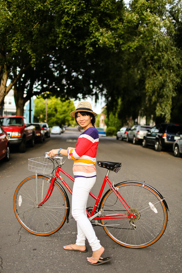 Biking Portland (+ 25 Free Things to Do in Portland Oregon) // localadventurer.com