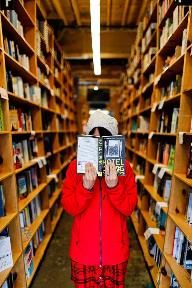 Powells Books + 25 Best Places to Take Pictures in Portland Oregon // localadventurer.com