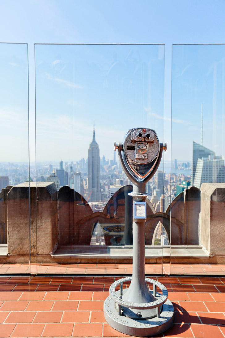 Amazing Views from the Top of the Rockefeller Center // localadventurer.com