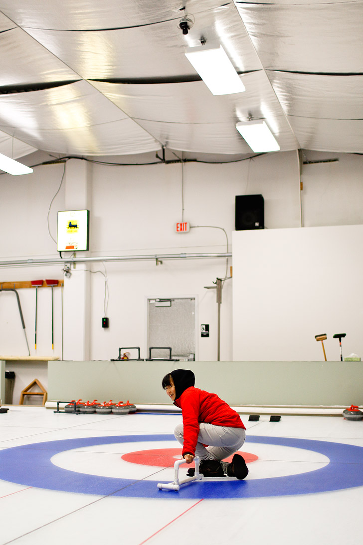 Curling in Beaverton Oregon // localadventurer.com