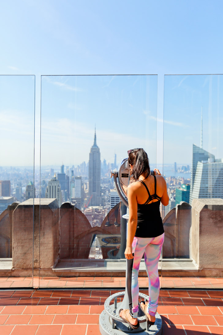 Seeing the Best Views of New York from the Observation Deck Rockefeller Center // localadventurer.com