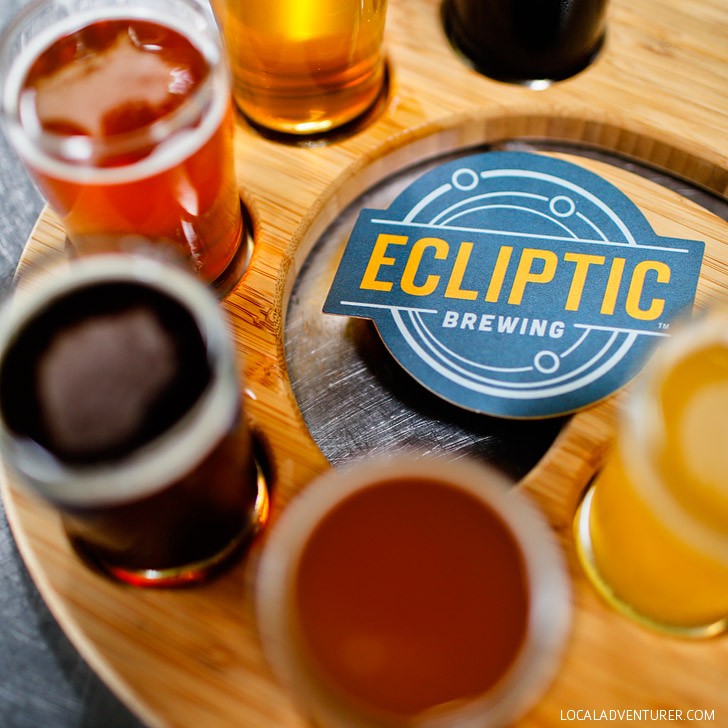 Ecliptic Brewing Brewery Tour (+25 Free Things to Do in Portland Oregon) // localadventurer