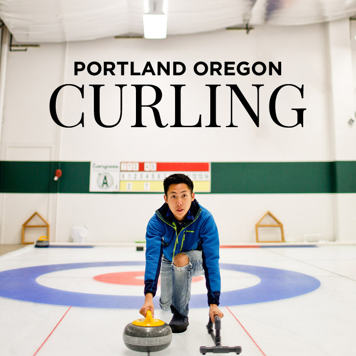 Learning How to Curl at Evergreen Curling Club