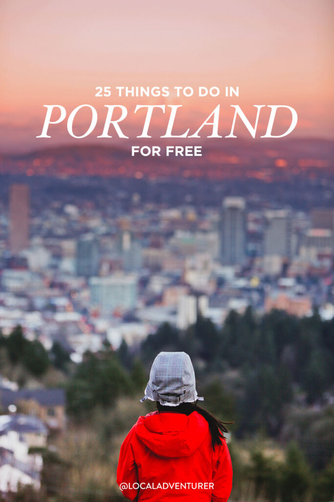 Free Events in Portland OR - Free Portland Events and other Free Activities in Portland // localadventurer.com