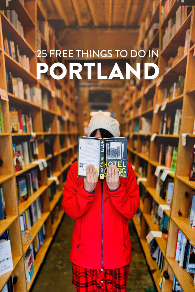 Visiting Portland on a budget? Here's the Top 25 free things to do in Portland OR
